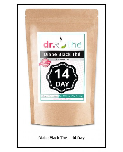 Herbal Diabe Black Tea 14 Day Program